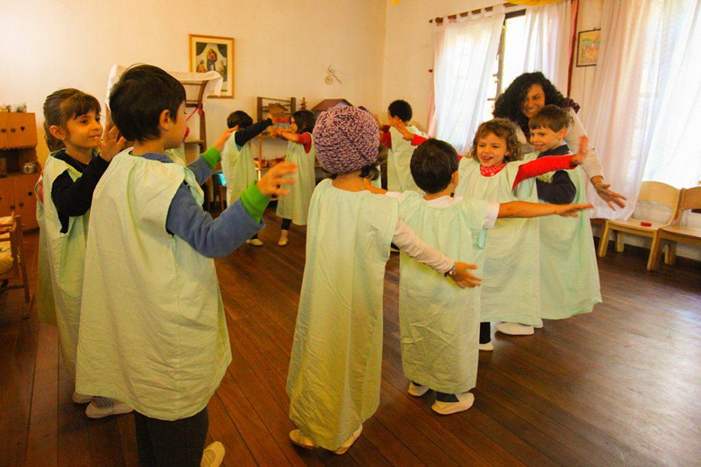 euritmia elementar - Colégio Micael Educação Infantil