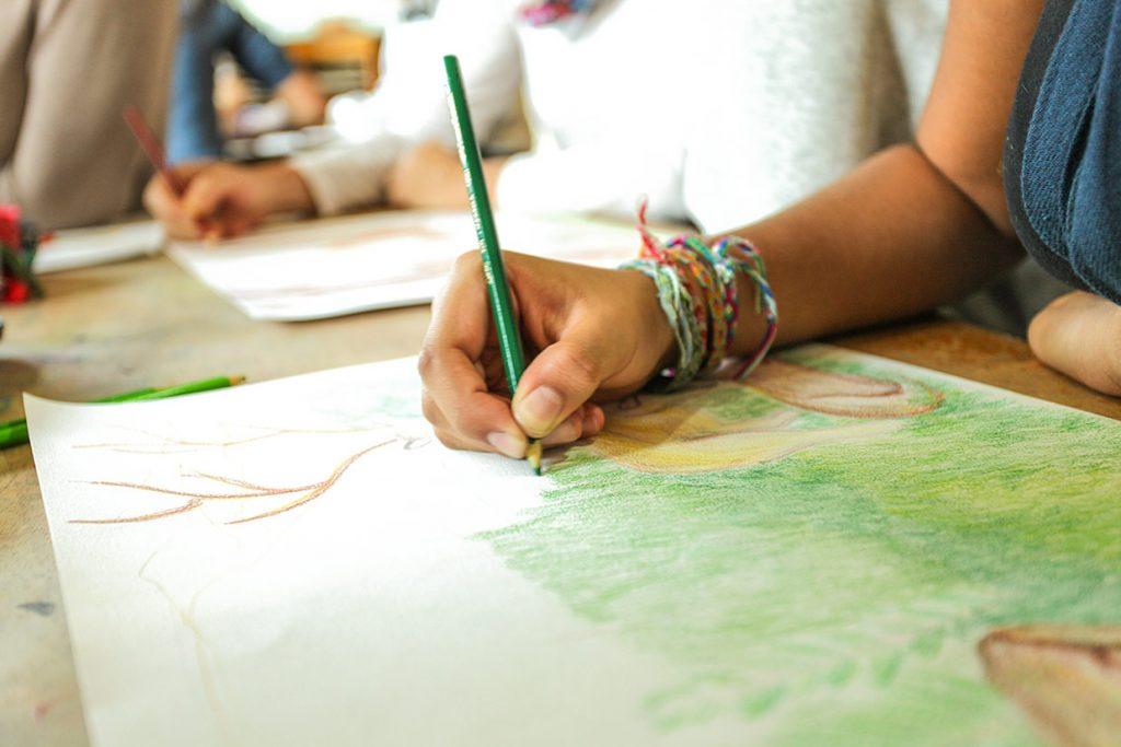 aula de artes do 10º ano - Colégio Micael Ensino Médio