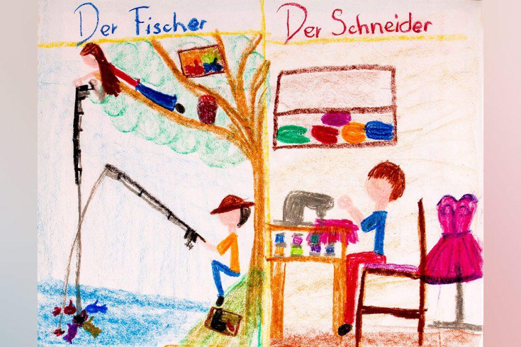 caderno de alemão do 3º ano - Colégio Micael Ensino Fundamental