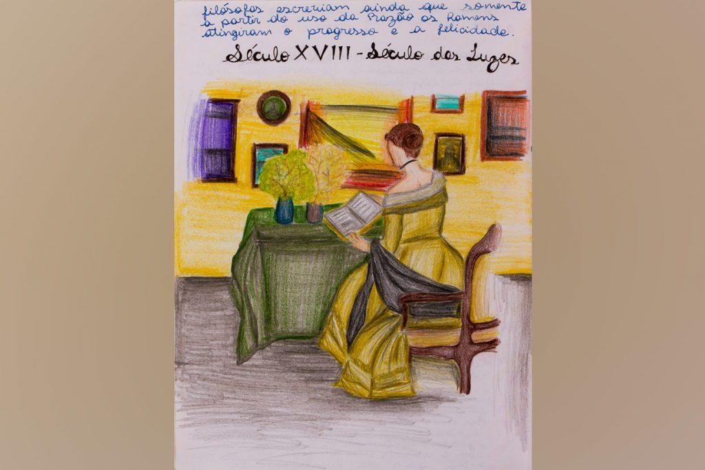 caderno de história do 8º ano - Colégio Micael Ensino Fundamental