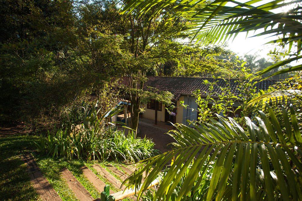 muito verde e espaço para brincar - Colégio Micael Educação Infantil